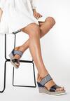 Granatowe Sandały Nautirah