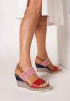 Czerwone Sandały Nautirah