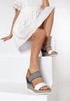 Białe Sandały Nautirah