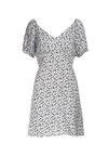 Biała Sukienka Hidia