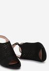 Czarne Sandały Thessasea