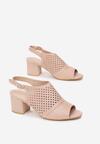 Różowe Sandały Thessasea