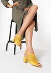 Żółte Sandały Thessasea