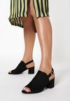 Czarne Sandały Arrienore