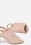Różowe Sandały Zelidorise