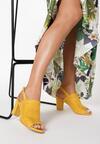 Żółte Sandały Zelidorise