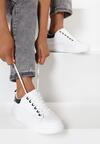 Biało-Czarne Sneakersy Sireireida