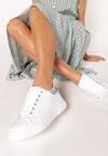 Biało-Niebieskie Sneakersy Sireireida