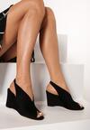 Czarne Sandały Kimonome