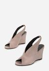 Beżowe Sandały Kimonome
