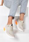 Beżowe Sneakersy Acapheu