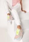 Jasnoróżowe Sneakersy Acapheu
