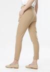 Ciemnobeżowe Spodnie Avaviane