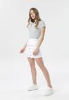 Biała Spódnica Aurata