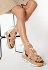 Beżowe Sandały Iagow