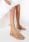 Beżowe Sandały Eirereida