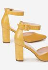 Żółte Czółenka Molphine