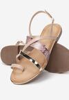 Różowe Sandały Physatai