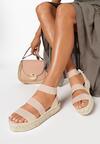Beżowe Sandały Ilapise