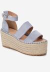 Niebieskie Sandały Avarith