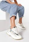 Beżowe Sneakersy Merilla