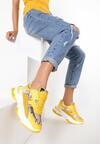 Żółte Sneakersy Merilla