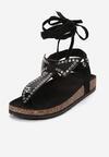 Czarne Sandały Adririal