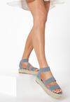 Niebieskie Sandały Ilapise