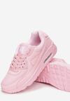 Różowe Pudrowe Buty Sportowe Nillda