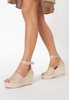 Beżowe Sandały Helinia
