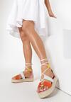 Różowe Sandały Leupeia