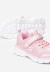 Różowo-Białe Buty Sportowe Idaphise