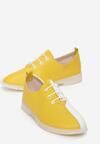 Żółto-Białe Półbuty Parthusa