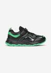 Czarno-Zielone Buty Sportowe Adrelin