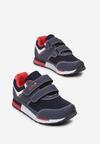 Niebiesko-Czerwone Buty Sportowe Dorynore