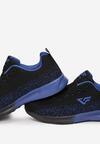 Czarno-Niebieskie Buty Sportowe Iadise