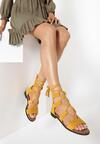 Żółte Sandały Diodorise