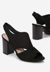 Czarne Sandały Thessariel