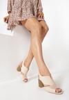 Beżowe Sandały Thessariel