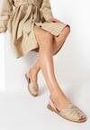 Beżowe Sandały Coraevia