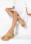 Beżowe Sandały Merinore
