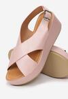 Różowe Sandały Merinore
