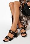 Czarne Sandały Lariete
