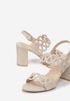 Beżowe Sandały Lariete