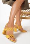 Żółte Sandały Lariete