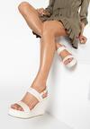 Beżowe Sandały Aelenas
