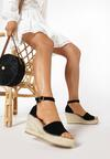 Czarne Sandały Arineva