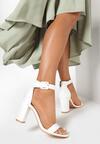 Białe Sandały Delothia