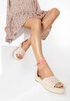 Beżowe Sandały Kelaseise