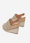 Beżowe Sandały Aelena